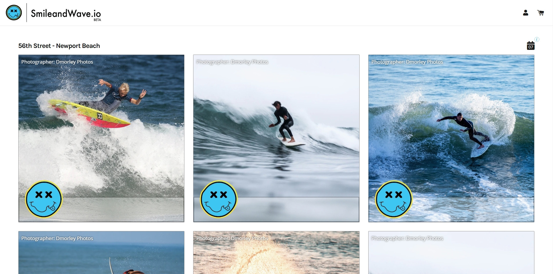 Smile and Wave - Surfing Dashboard